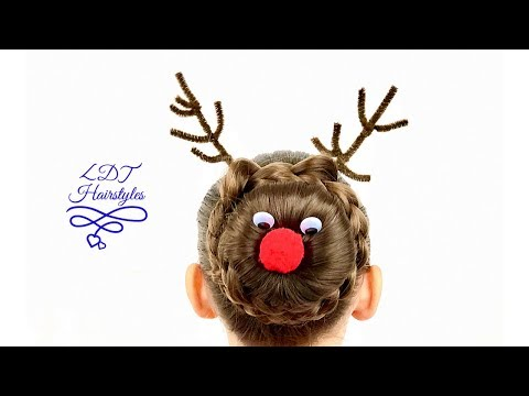🦌🛷 Rudolph Hairstyle 🦌🛷