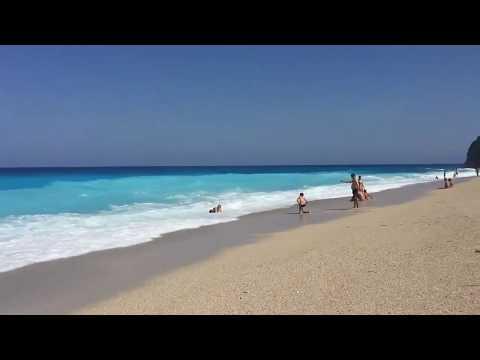 Milos Beach Lefkada Island Greece : 360 Degree Video