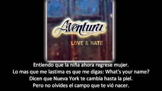 Aventura - Mi Niña Cambió (lyric - letra)