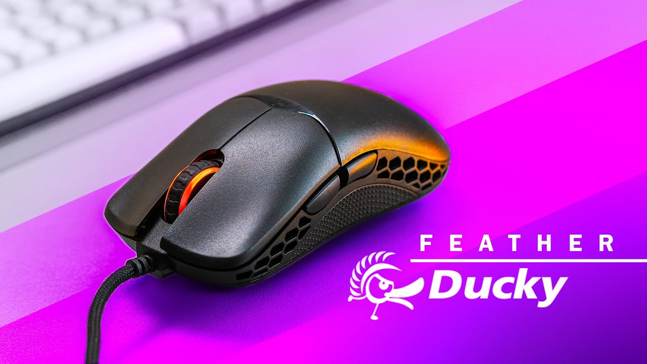 Ducky FEATHER Gaming Mouse - Another Lightweight Option