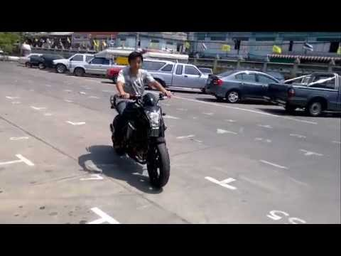 หัดขี่bigbikeครั้งแรก รุ่น er6n 2012