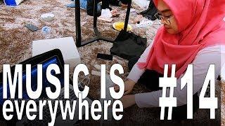 BEGINI KALO RIA RICIS MAIN MUSIK   Music Is Everywhere #14