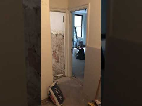 Sneakpeek of a small one bedroom apartment gut renovation