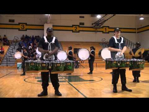 Bethel High School Drumline 2014 Exhibition