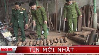 ⚡ Tin mới nhất | Phát hiện hàng chục vỏ đạn pháo tại một cơ sở phế liệu