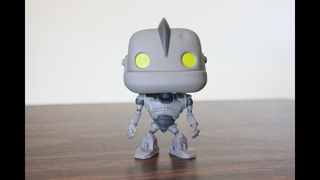Funko Pop The Iron Giant Review Youtube