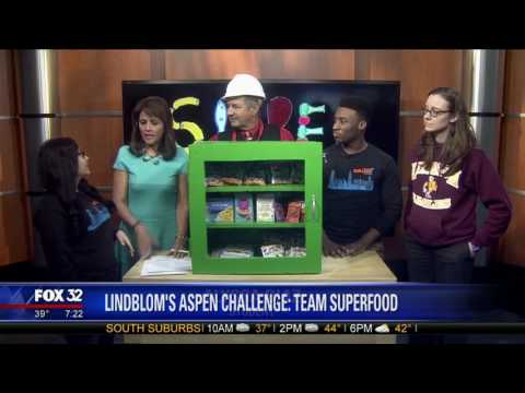Lindblom Math and Science Academy Participates In the Aspen Challenge