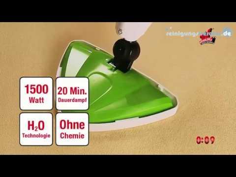 Cleanmaxx Dampfbesen 5in1 1500 W Bei Www Reinigungsberater De Youtube