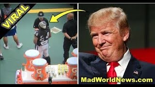 ANTI-TRUMP NFL PLAYER DISRESPECTS AMERICA IN MEXICO TRUMP FIRES BACK WITH 2 BOLD WORDS!