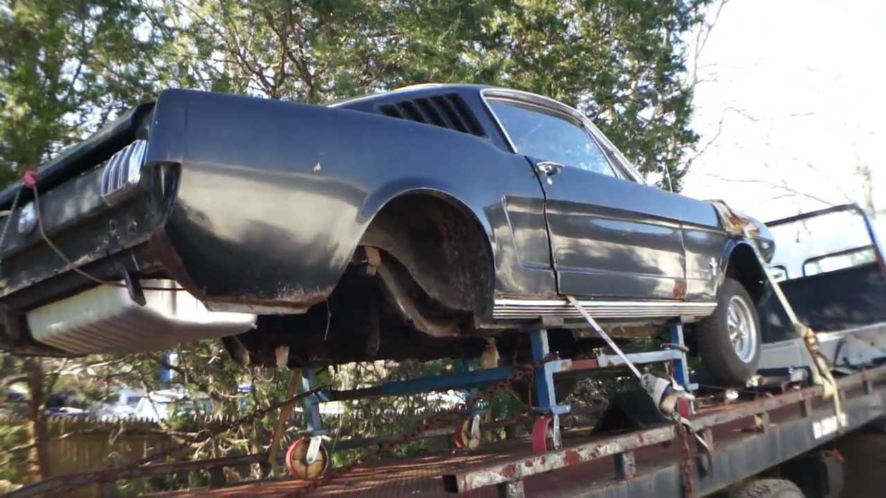 1966 Ford Mustang Fastback Project Shell For Sale Youtube