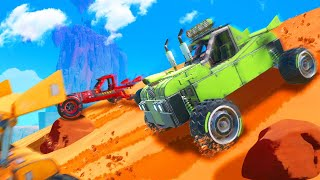 BUILD WORLDS FASTEST OFFROAD BUGGY CHALLENGE! (Trailmakers)