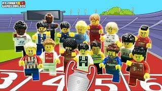 LEGO Football Race • Run to win Champions League 2019 • LEGO Challenge n. 1