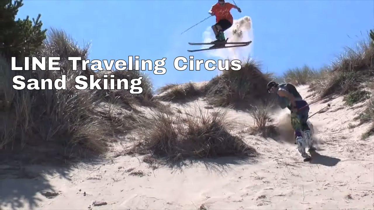 Skiing on Sand | LINE Traveling Circus Highlights
