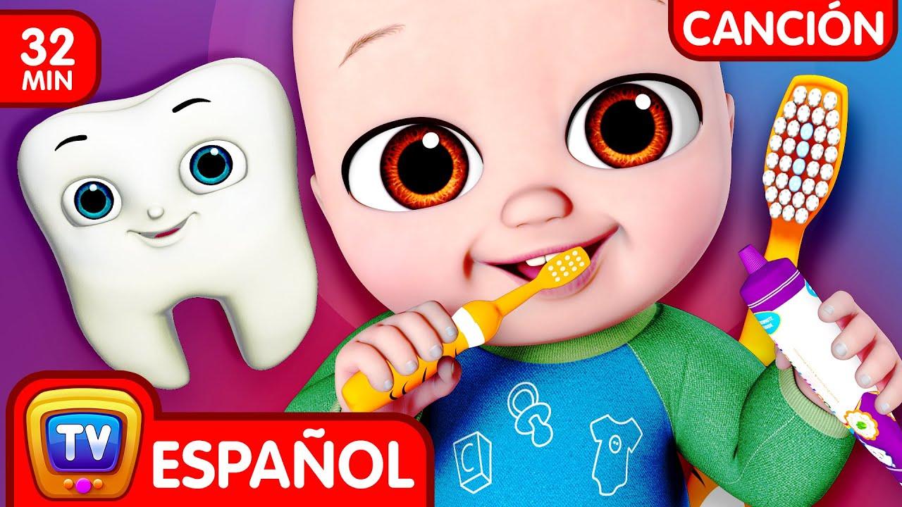 No No Me Cepillo los Dientes (No No Brush My Teeth) | Canciones Infantiles | ChuChu TV Colección