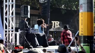 Dj Low Down Loretta Brown aka Erykah Badu at Haight Street Music Festival