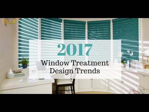2017 Window Treatment Design Trends