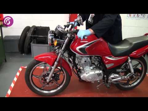 Steering and Suspension- Motor Cycle 4 Task 3