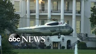 Trump transferred by helicopter to hospital | WNT