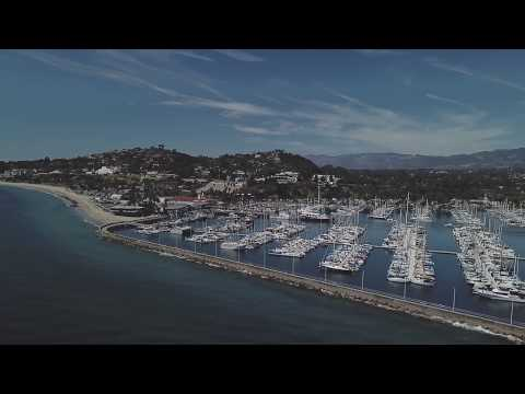 Celebrity Infinity Cruise Ship Moored at Santa Barbara, California