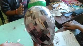 Como fazer uma máscara com bexiga