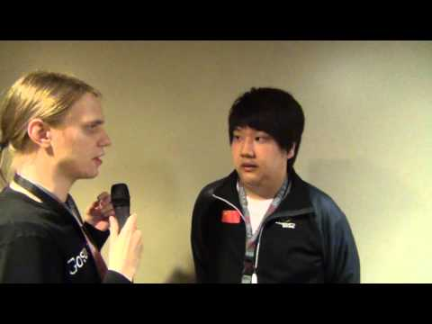 Interview with iG.ChuaN right after the grand final