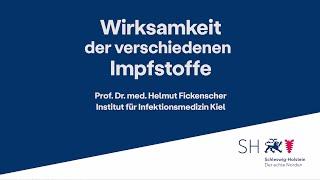 🎥 prof. dr. med. helmut fickenscher, leiter des instituts für infektionsmedizin an der kieler universität, erläutert die wirksamkeit impfstoffe.weitere ...