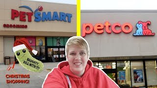 SHOPPING AT PETSMART AND PETCO | Pet Store Vlog