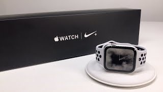 Apple Watch Series 4 Unboxing & First Look (Nike+ 44mm Cellular)