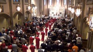 Cathedral Of St. John Berchmans, Shreveport New Pipe Organ.wmv