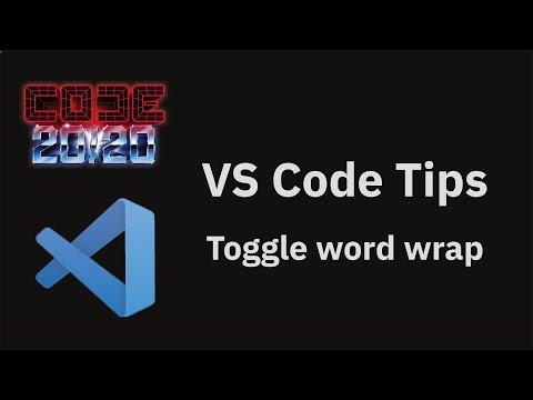 Toggle word wrap