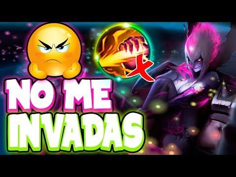 ¡¡A MI NO ME INVADAS!! | Cuando Tilteas al Jungler Rival xD | LoL | SeVenJungle