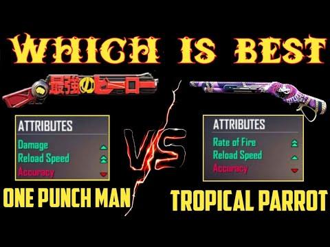 Download Which Shotgun Skin Is Best | Rapper Underworld VS One Punch Man m1887 Skin || New m1887 Gameplay |