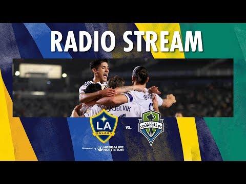LA Galaxy Vs Seattle Sounders | Radio Live Stream