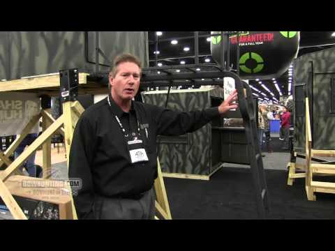 Shadow Hunter Adjustable Ladder Platform Stand 2016 ATA Show