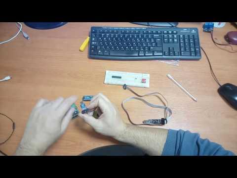 видео: Прошивка микроконтроллеров atmel. Простой способ.