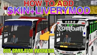 How To Add Kerala Bus Livery In Bus Simulator Indonesia | Kerala Tourist Bus | Kerala Bus Lovers