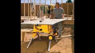 Dewalt Dw744xrs 10 Inch Job Site Table Saw With Rolling Stand