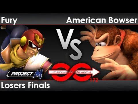 IaB! 172 - Fury (C Falcon) vs SS | American Bowser (DK) Losers Finals - PM