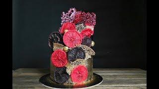 Торт КАБАРЕ / Как украсить торт