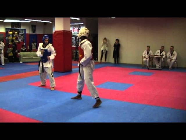 Elite Taekwondo Black Belt Dan Exam - Yannik Vs Jr Clerveaux
