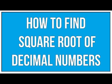 how to find cube root of decimal number
