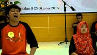 musikalisasi puisi UKM-F Teater Sabit (FIP, UTM)