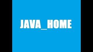 Set JAVA_HOME Variable On Windows 10