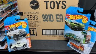 Lamley Unboxing: Hot Wheels 2019 D Case