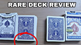 rare Playing Cards Review (BICYCLE SECONDS)