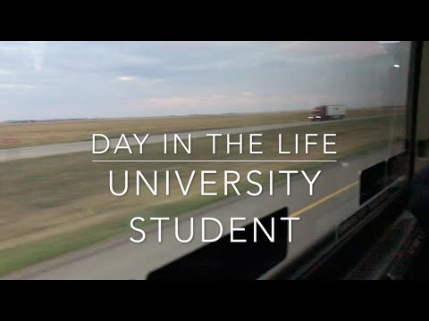 DAY IN THE LIFE OF A UNIVERSITY STUDENT IN CANADA- ULETH