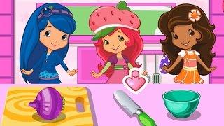 NEW Игры для детей—Disney Шарлотта земляничка готовит суп—Мультик Онлайн видео игры для девочек