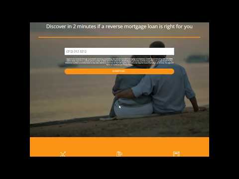 Reverse Mortgage Live Transfer Lead Generation Landing Page : Demo Site