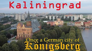 Kaliningrad Russia 4K.  Russian People and German Heritage