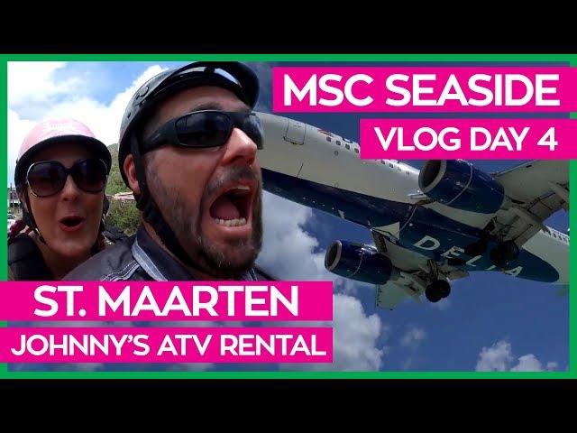 MSC Seaside | Butcher's Cut & Cruising Through St. Maarten on an ATV | MSC Cruises Vlog Day 04